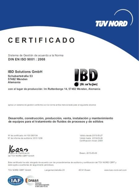 Zertifikat ES